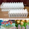 TE115 BIG FENCE CAKE POP STAND