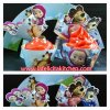 WR014 MASHA & THE BEAR CUPCAKE WRAPPER SET 10PC