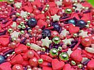 FI 30G SPRINKLE RED VALENTINE MIX HEART STAR
